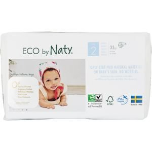 Eco Couches Naty Taille N Newborn 4 5 Kg 26 Pcs