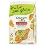 Crackers de riz au piment doux Bio - Ma vie sans Gluten