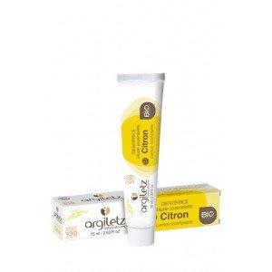 Dentifrice Citron BIO 75 ml - Argiletz
