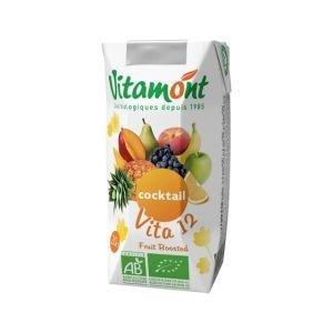 Cocktail vita 12 pur jus de fruit Bio - Vitamont