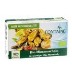 Moules bio boîte 120g - Fontaine