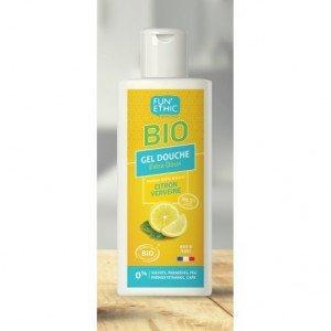 Gel douche extra doux verveine citron 250 ml Bio - Fun'Ethic