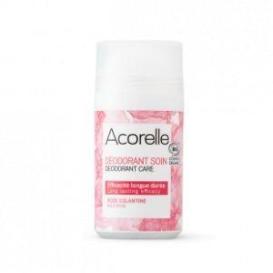 Déodorant Roll On BIO Rose Eglantine 50ml - Acorelle