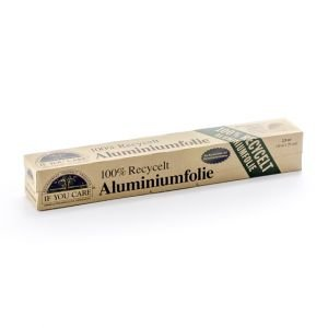 Papier d'aluminium 100% recyclé - If You Care