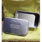 Boite à savon en métal - La Savonnerie du Verger