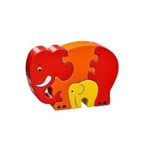 Puzzle éléphant - bébé - Zélio