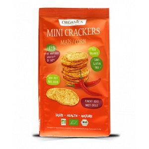 Crackers maïs – piment doux - bio - 50g - Organica