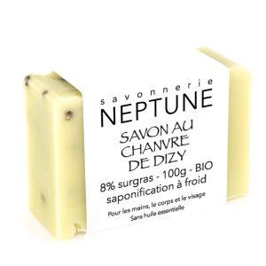Savon au chanvre de Dizy - Neptune