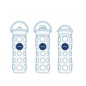 Bouteille de rechange en verre 475 ml - Lifefactory