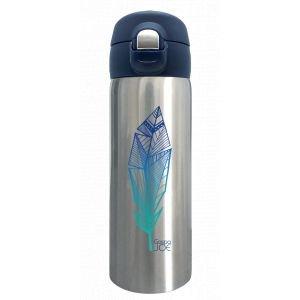 Mug Isotherme Trendy Plume bleue - GaspaJOE