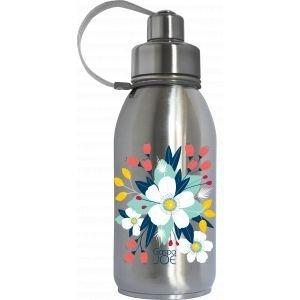 Gourde isotherme Friendly Bouquet - Inox - 700ml - GaspaJOE
