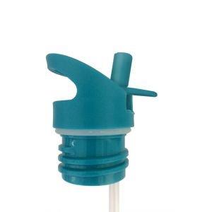 Bouchon sport avec paille - Sporty - Bleu - GaspaJOE