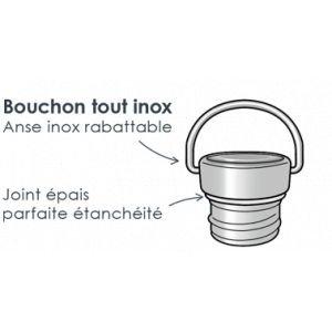Bouchon Sporty - inox - GaspaJOE