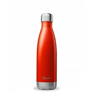 Bouteille isotherme rouge brillant 500ml - Qwetch