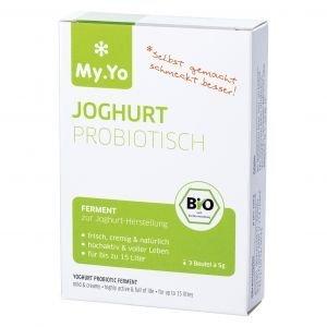 Ferment de yaourt probiotique bio paquet 3 x 5 g - My.Yo