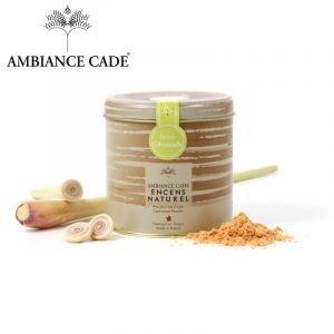 Boite poudre de cade + citronnelle 90g - Ambiance Cade