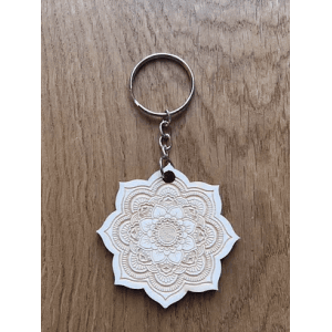 Porte-clés - Mandala - Fleur de vie - En dehors du cadre