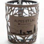 Verre à bougie - Fourre Taupe - Alpes et Lac