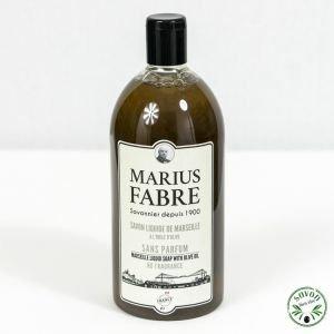 Savon Liquide de Marseille 1 L Santal 1900 - recharge - Marius Fabre