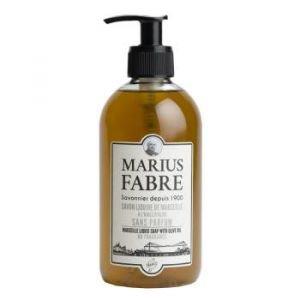 Savon Liquide de Marseille 400 ml Sans Parfum - pompe - Marius Fabre