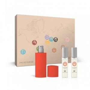 Coffret Recharge - Eau de parfum Waka - Madagascar - 3 x 11 ml - FiiLiT