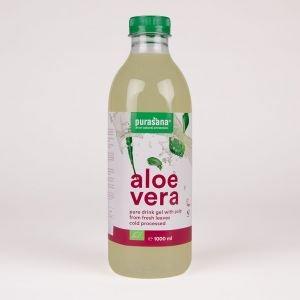 Gel à boire à l'aloe vera - Bio - 1000 ml - Purasana