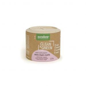 Clean & Green - Peau-cheveux-ongles - Bio - 60 caps. - Purasana