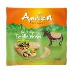 Tortillas de blé riche en fibres Bio - Amaizin