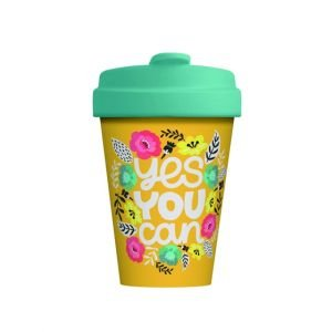 Mug BambooCup Yes you can - 400ml - Chic Mic
