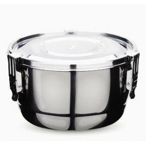 Boîte inox diamètre 10 cm - Onyx