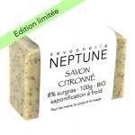 Savon citronné bio - Neptune