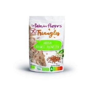 Chips triangle sarrasin Bio - Le pain des fleurs