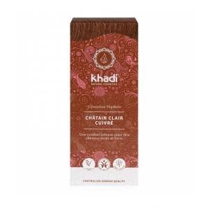 Teinture aux plantes BIO châtain clair - Khadi