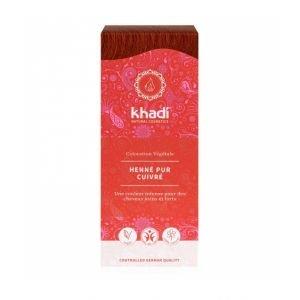 Teinture aux plantes BIO henné pur rouge - Khadi