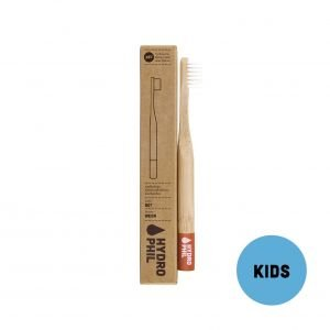 Brosse à dents en bambou Rouge Enfant Medium-Soft - Hydrophil