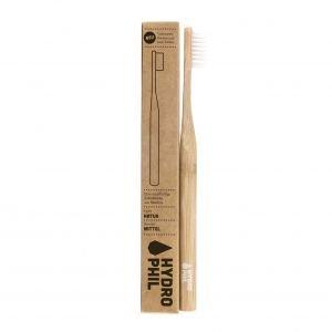 Brosse à dents en bambou Naturel Medium-Soft - Hydrophil