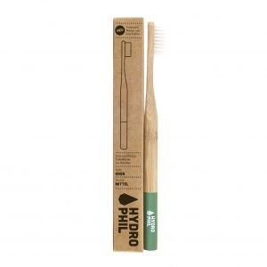 Brosse à dents en bambou Vert Medium-Soft - Hydrophil