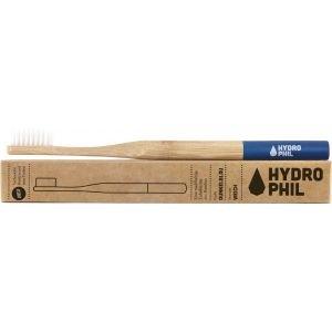 Brosse à dents en bambou Bleu Extra-Soft - Hydrophil
