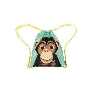 Sac à dos à coulisse - Chimpanzé - Coq en Pâte
