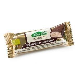 Allos Barre d'amarante enrobée de chocolat noir bio pcs 25 g