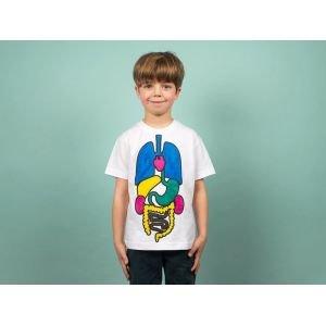 Colorie le tee-shirt et découvre l'anatomie - Koa Koa