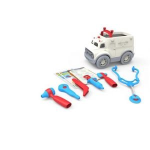 Set ambulance et docteur - Green Toys