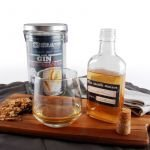 Bocal 1 L DIY Boisson Gin au herbes Bio - Radis et Capucine