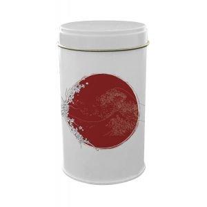 Boite fer blanc ronde Japon Vague 73*123 - Ah Table