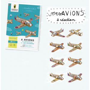 Kit avions - Pirouette Cacahouète