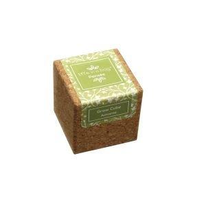 Cube liège aimanté Pensée