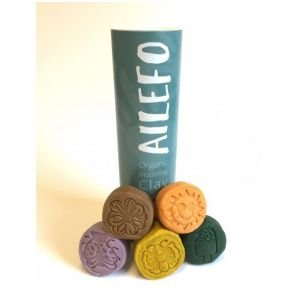 Pâte à modeler Bio- Petit tube (Spring) - Ailefo