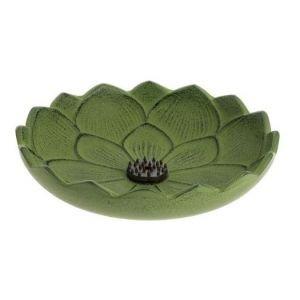 Brûle-parfums Iwachu Fleur de lotus vert - Iwachu