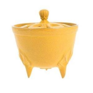 Brûle-parfums Iwachu Bol jaune - Iwachu