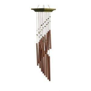 Carillon à vent Spirale mystique Jade - Woodstook